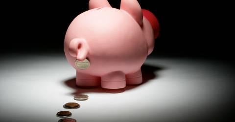 Spaarvarken verliest spaargeld